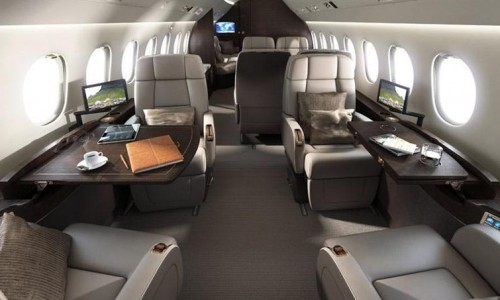 Falcon-900EX-Interior